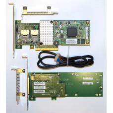 LSI 9260CV-8i 512MB Cache + CacheVault (контроллер, SuperCapacitor, монтажная плата для него, кабель для суперконденсатора)